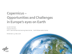 Copernicus - Geospatial World Forum
