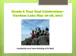 Gr 6 End of Year Celebration 2017