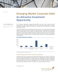 Emerging Market Corporate Debt: An Attractive Investment Opportunity