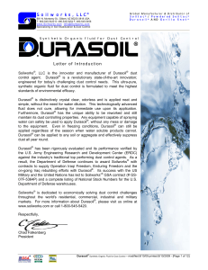 Durasoil® Ultra-Pure Synthetic Organic Fluid For