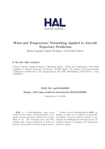 Wind and Temperature Networking Applied to Aircraft - HAL-ENAC