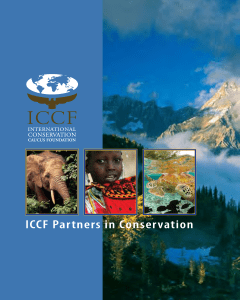 ICCF Partners in Conservation