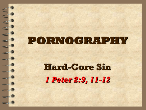 Defining Pornography Biblically