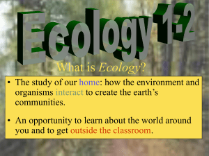 Ecology - Redwood.org