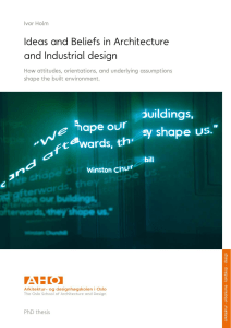 Ideas and Beliefs in Architecture and Industrial design