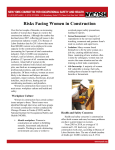 Risks Facing Women in Construction