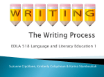 The Writing Process - WritingProcessStage2