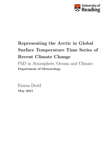 Representing the Arctic in Global Surface Temperature Time Series