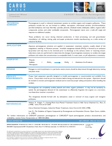 IW CAIROX Tech Brief Industrial Waste Treatment pg1