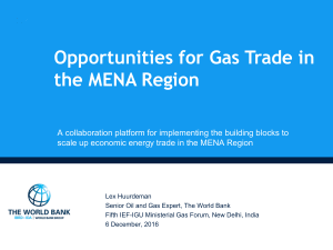 Pan-arab regional energy trade platform (PA-RETP)