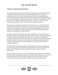 Climate Leadership Statement