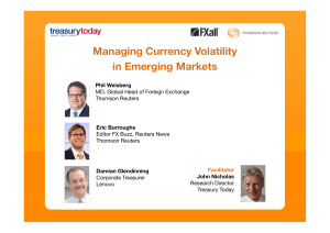 Managing Currency Volatility in Emerging Markets