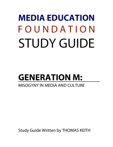Generation M - Media Education Foundation