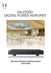 DA-Z250D Digital Power Amplifier