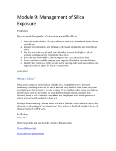 Health Effects of Silica Overexposure