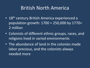PP British North America, Seven Years War, Pontiac`s War