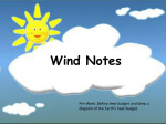 Wind Notes Powerpoint