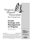 Forest Ecology and Management in Virginia