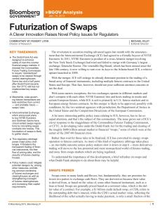 Futurization of Swaps