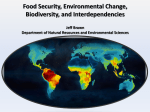 Food Security, Environmental Change, Biodiversity, and