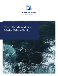 Three Trends in Middle Market Private Equity