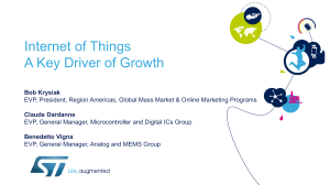 Internet of Things A Key Driver of Growth