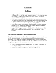 Ch 14 Problems - U of L Class Index