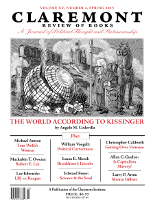 the world according to kissinger