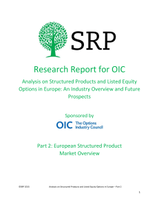 SRP Research Report for OIC (Part 2: European Structured Product