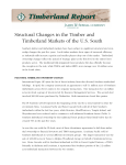 Structural Changes in the Timber and Timberland Markets of the US