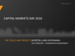 The Follo Line Project - Multiconsult Investor Relations