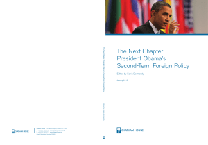 President Obama`s Second-Term Foreign Policy