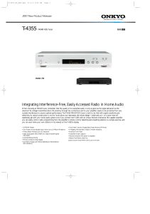 Integrating Interference-Free, Easily Accessed Radio in Home Audio