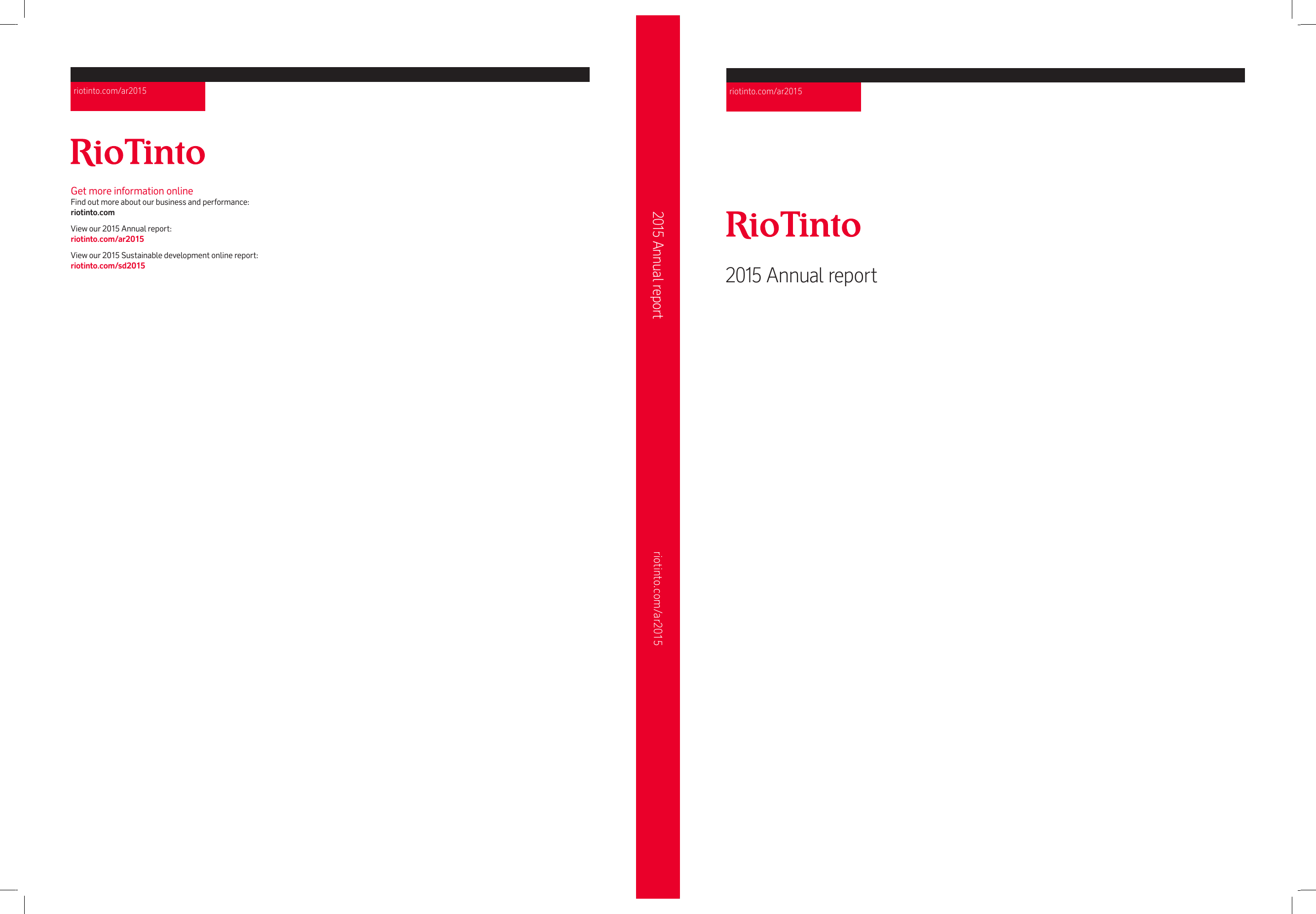 Rio Tinto Annual Report 2015 Wiring Instructions Etrade