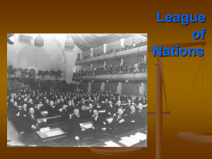 League of Nations - Spring Branch ISD