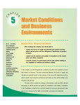EB Chapter 5 Market Conditions and Business Environments