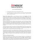 Imvescor Adopts Dividend Policy