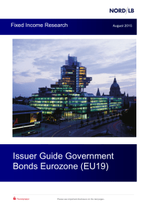Issuer Guide Government Bonds Eurozone (EU19)