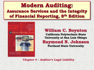 Chapter 4 Auditing