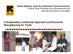 Sustainable Livelihoods Approach