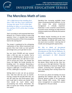 The Merciless Math of Loss - CMG AdvisorCentral