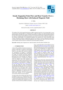 Steady Stagnation Point Flow and Heat Transfer Over a Shrinking