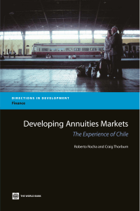 Developing Annuities Markets The Experience of Chile