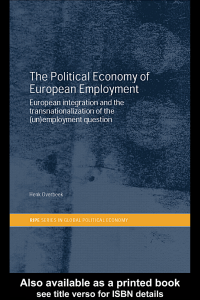 The Political Economy of European Employment