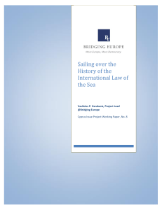 Sailing over the History of the International Law of