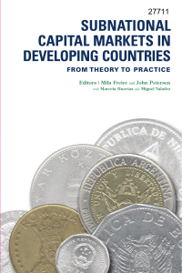 Subnational Capital Markets in Developing Countries