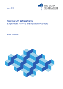 Employment, recovery and inclusion in Germany