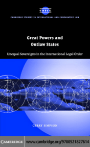 Great Powers and Outlaw States: Unequal Sovereigns in - E