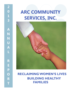 Annual Report - ARC Community Services