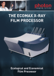 THE ECOMAX X-RAY FILM PROCESSOR